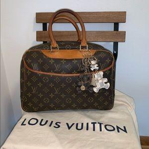 Louis Vuitton Deauville Monogram Handbag